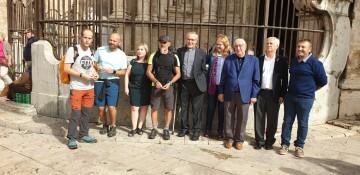 Antonio Aiardi, primer peregrino internacional en recorrer a pie los 518 kms del camino del Santo Grial (26)