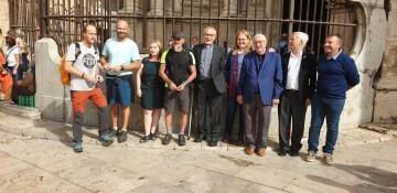 Antonio Aiardi, primer peregrino internacional en recorrer a pie los 518 kms del camino del Santo Grial (27)