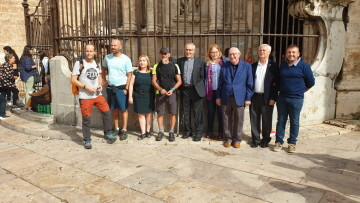 Antonio Aiardi, primer peregrino internacional en recorrer a pie los 518 kms del camino del Santo Grial (28)
