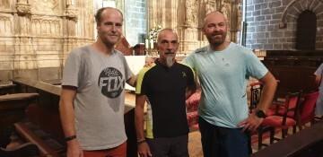 Antonio Aiardi, primer peregrino internacional en recorrer a pie los 518 kms del camino del Santo Grial (31)