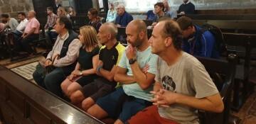 Antonio Aiardi, primer peregrino internacional en recorrer a pie los 518 kms del camino del Santo Grial (33)