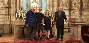 Antonio Aiardi, primer peregrino internacional en recorrer a pie los 518 kms del camino del Santo Grial (36)