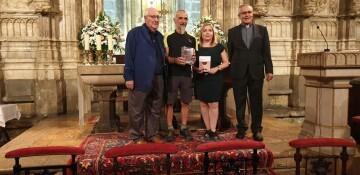 Antonio Aiardi, primer peregrino internacional en recorrer a pie los 518 kms del camino del Santo Grial (37)
