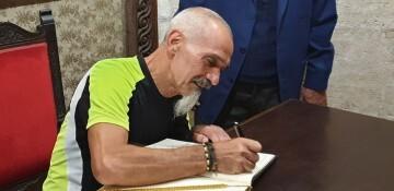 Antonio Aiardi, primer peregrino internacional en recorrer a pie los 518 kms del camino del Santo Grial (43)