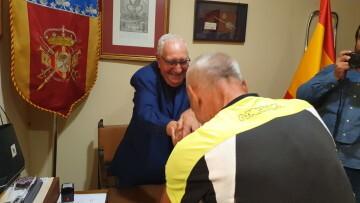 Antonio Aiardi, primer peregrino internacional en recorrer a pie los 518 kms del camino del Santo Grial (50)