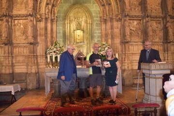 Antonio Aiardi, primer peregrino internacional en recorrer a pie los 518 kms del camino del Santo Grial (9)