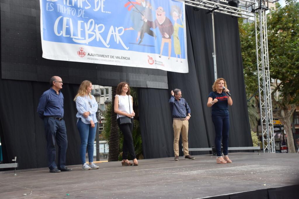 """Celebración Día Internacional de las Personas MayoresCentro Óptico Losan colabora en la """"Trobada Saludable"""" de Valencia 2019 (10)"""