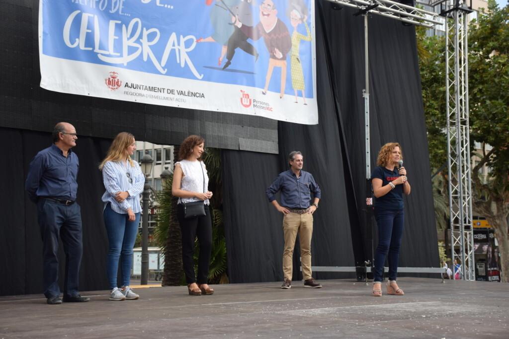 """Celebración Día Internacional de las Personas MayoresCentro Óptico Losan colabora en la """"Trobada Saludable"""" de Valencia 2019 (15)"""