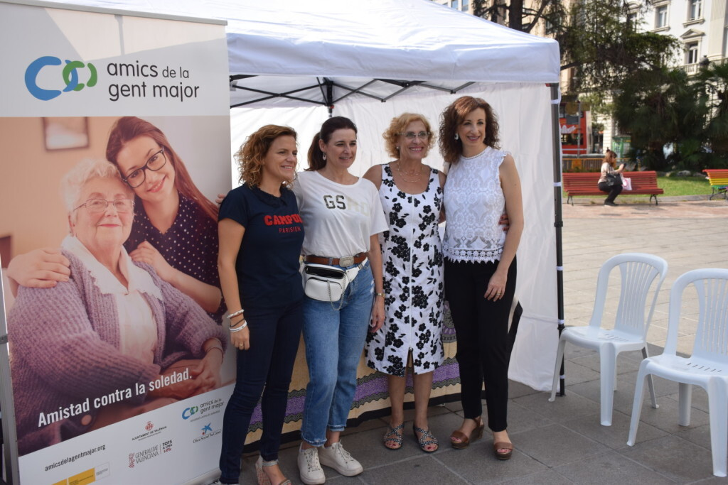 """Celebración Día Internacional de las Personas MayoresCentro Óptico Losan colabora en la """"Trobada Saludable"""" de Valencia 2019 (21)"""