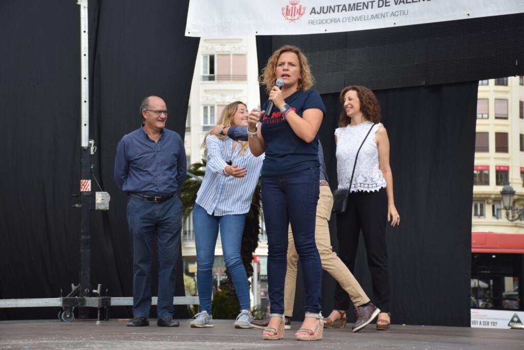 """Celebración Día Internacional de las Personas MayoresCentro Óptico Losan colabora en la """"Trobada Saludable"""" de Valencia 2019 (9)"""