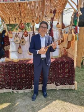 José María Chiquillo, participa en el Primer Festival Internacional de Artesanía que se celebra en la Ciudad de Kokand (11)