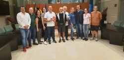 Massamagrell acoje la llegada del primer peregrino internacional del camino del Santo Grial (1)