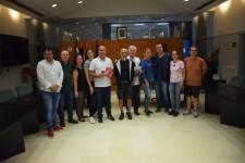 Massamagrell acoje la llegada del primer peregrino internacional del camino del Santo Grial (14)