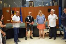 Massamagrell acoje la llegada del primer peregrino internacional del camino del Santo Grial (17)