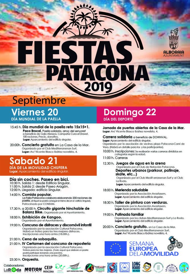 festes patacona 2019 cast