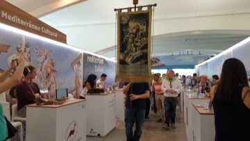 Clavaris Sant Onofre en la Mostra de Turisme de la Comunitat Valenciana 20191019_135227 (1)