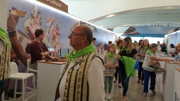 Clavaris Sant Onofre en la Mostra de Turisme de la Comunitat Valenciana 20191019_135227 (5)
