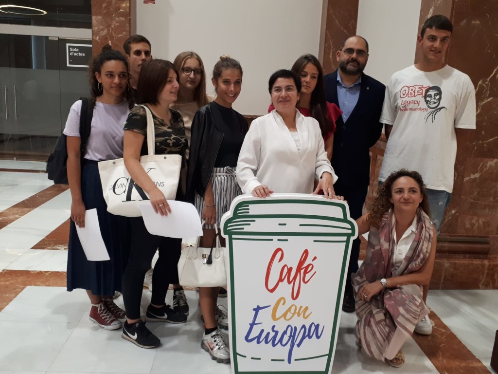 Foto Pau Ferrando Café amb Europa i