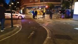 Un conductor atropella a un ciclista en la Avenida Constitución de Valencia 20191025_074132 (9)