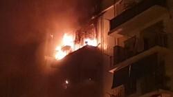 Un incendio calcina una vivienda en Valencia bomberos (13)