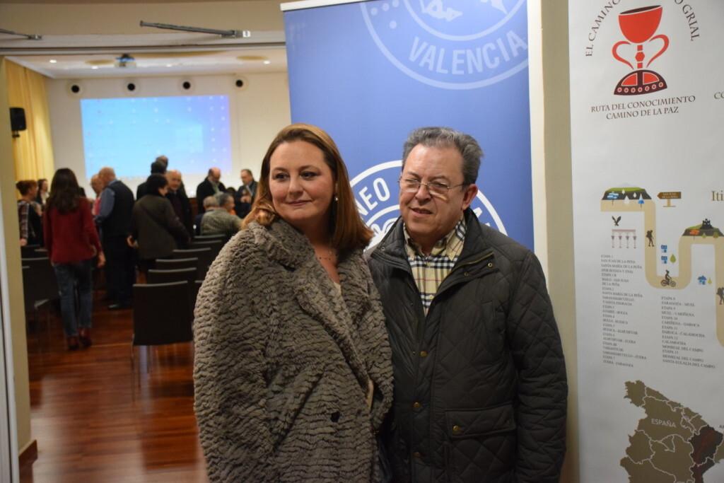 Asistentes Presentación del consorcio europeo del Camino del Santo Grial en el Ateneo de Valencia (12)