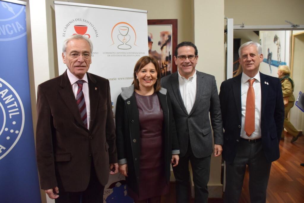 Asistentes Presentación del consorcio europeo del Camino del Santo Grial en el Ateneo de Valencia (15)