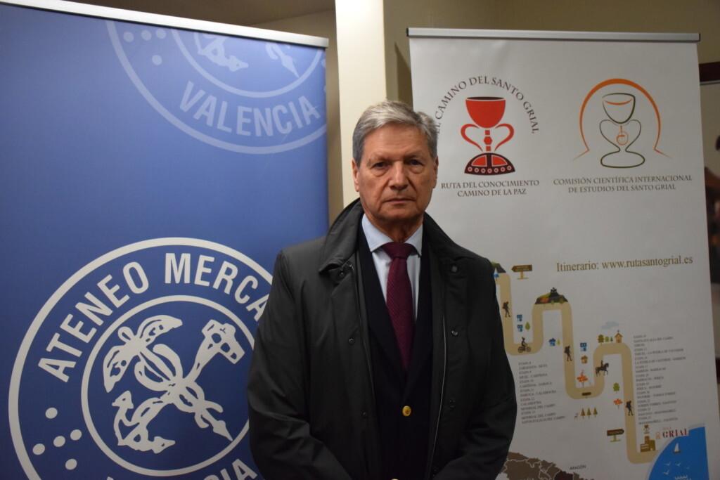 Asistentes Presentación del consorcio europeo del Camino del Santo Grial en el Ateneo de Valencia (17)