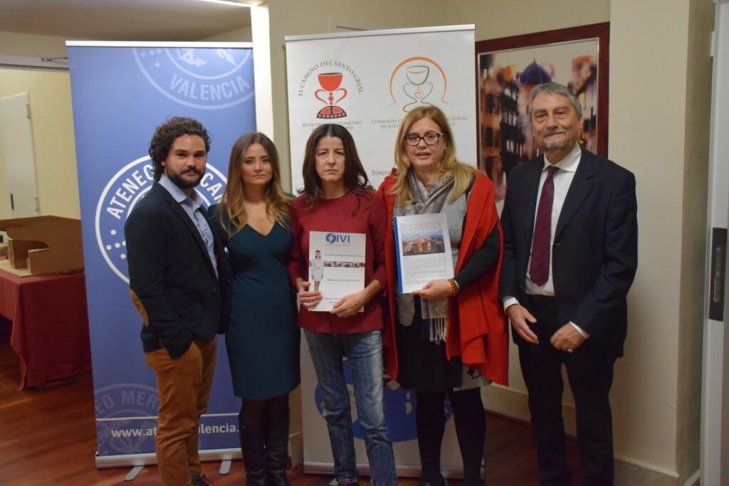 Asistentes Presentación del consorcio europeo del Camino del Santo Grial en el Ateneo de Valencia (2)