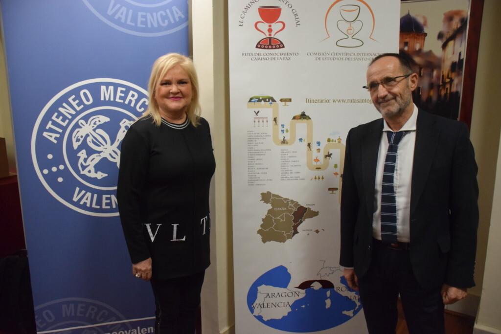 Asistentes Presentación del consorcio europeo del Camino del Santo Grial en el Ateneo de Valencia (20)