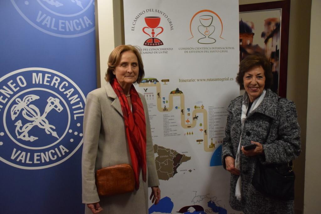 Asistentes Presentación del consorcio europeo del Camino del Santo Grial en el Ateneo de Valencia (21)