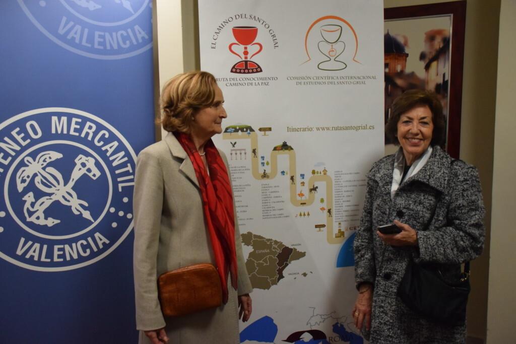 Asistentes Presentación del consorcio europeo del Camino del Santo Grial en el Ateneo de Valencia (22)