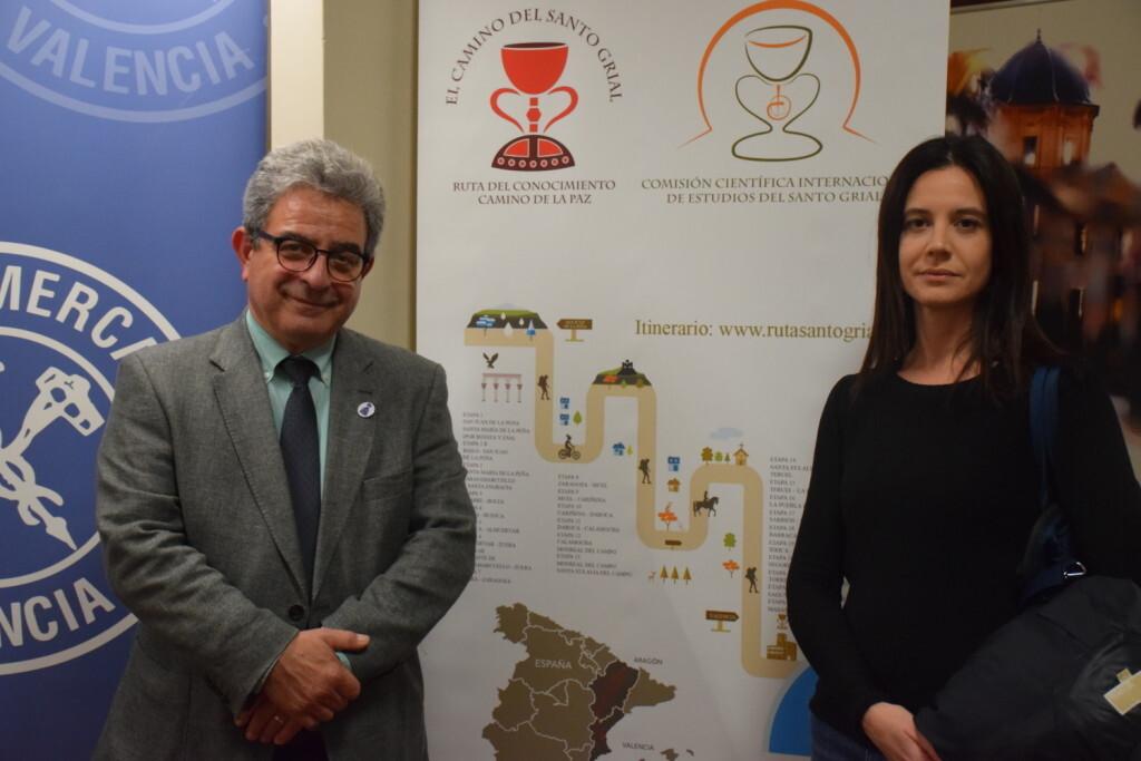 Asistentes Presentación del consorcio europeo del Camino del Santo Grial en el Ateneo de Valencia (35)