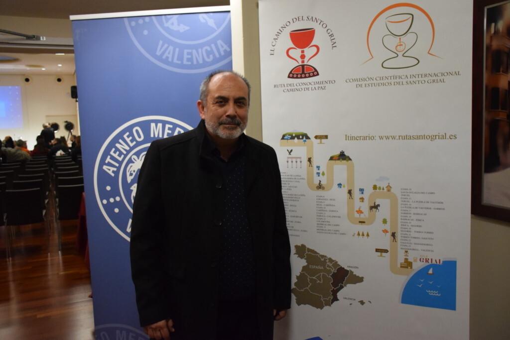 Asistentes Presentación del consorcio europeo del Camino del Santo Grial en el Ateneo de Valencia (4)