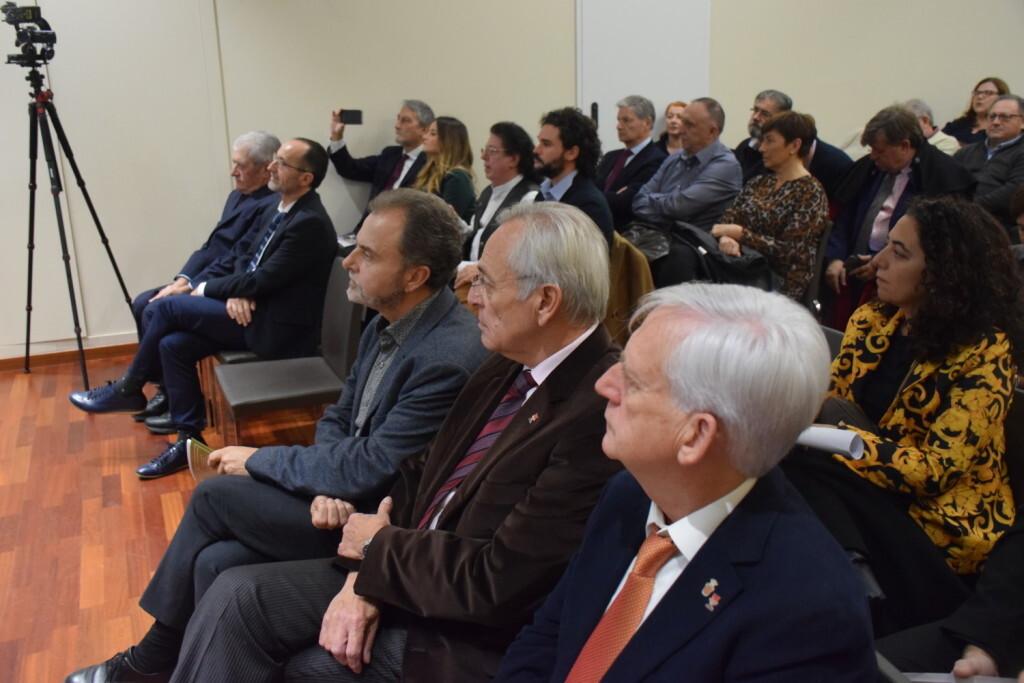 Asistentes Presentación del consorcio europeo del Camino del Santo Grial en el Ateneo de Valencia (41)