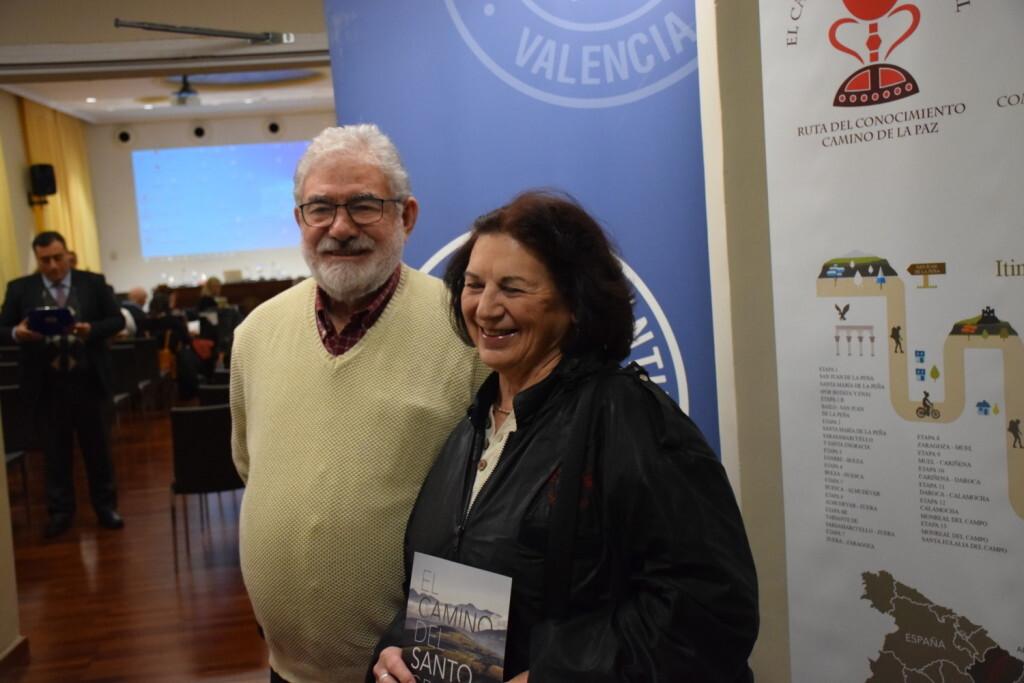 Asistentes Presentación del consorcio europeo del Camino del Santo Grial en el Ateneo de Valencia (5)