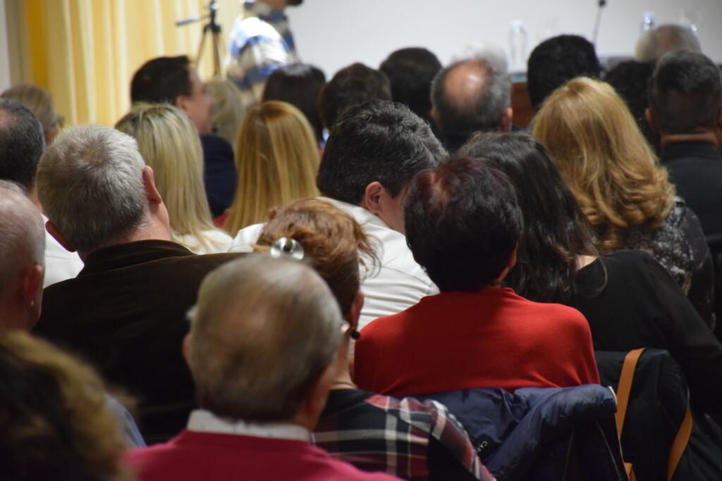 Asistentes Presentación del consorcio europeo del Camino del Santo Grial en el Ateneo de Valencia (53)