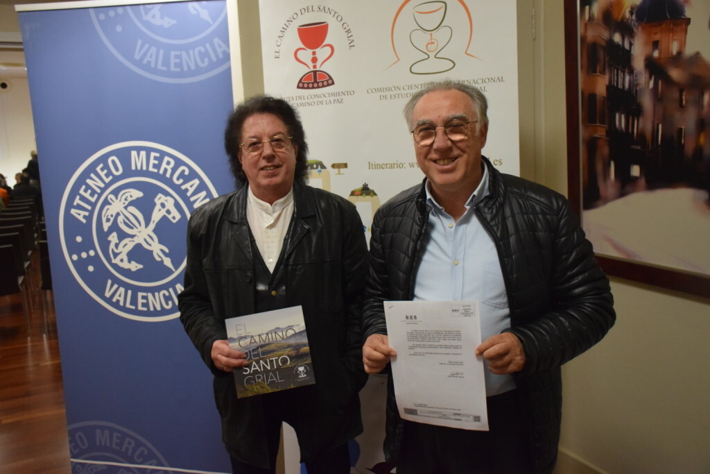 Asistentes Presentación del consorcio europeo del Camino del Santo Grial en el Ateneo de Valencia (7)
