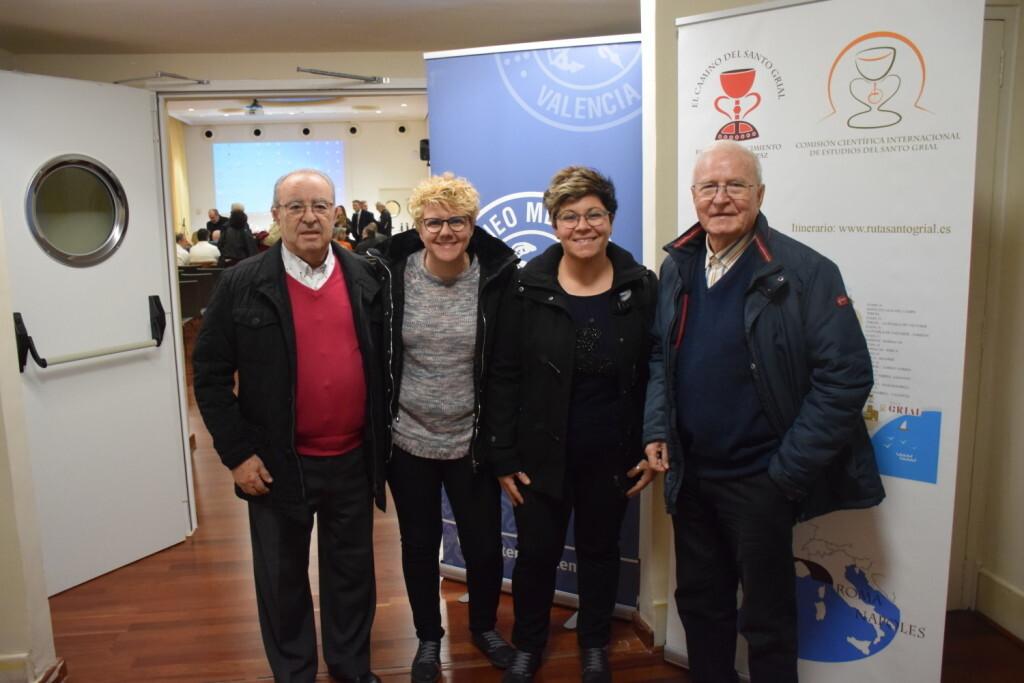 Asistentes Presentación del consorcio europeo del Camino del Santo Grial en el Ateneo de Valencia (8)