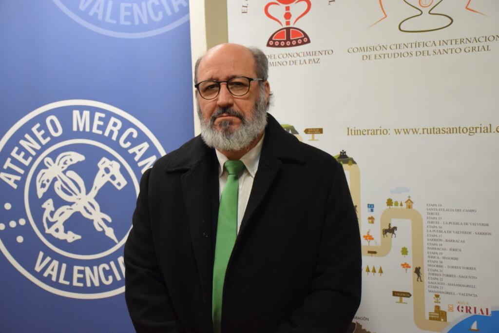 Asistentes Presentación del consorcio europeo del Camino del Santo Grial en el Ateneo de Valencia (9)