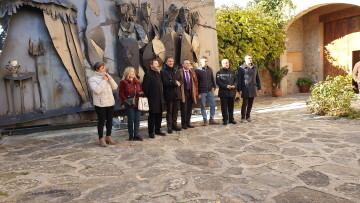 Inauguración de la primera escultura del Camino del Santo Grial en Barracas 20191120_113321 (11)