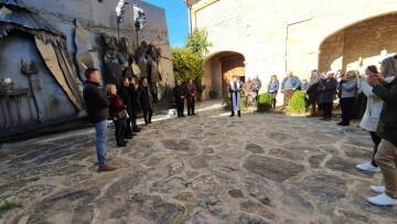 Inauguración de la primera escultura del Camino del Santo Grial en Barracas 20191120_113321 (31)