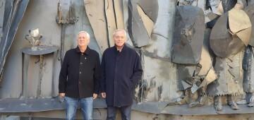 Inauguración de la primera escultura del Camino del Santo Grial en Barracas 20191120_113321 (4)