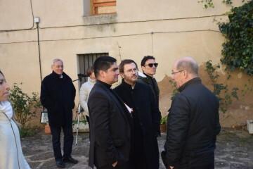Inauguración de la primera escultura del Camino del Santo Grial en Barracas 20191120_113321 (50)