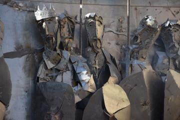 Inauguración de la primera escultura del Camino del Santo Grial en Barracas 20191120_113321 (53)