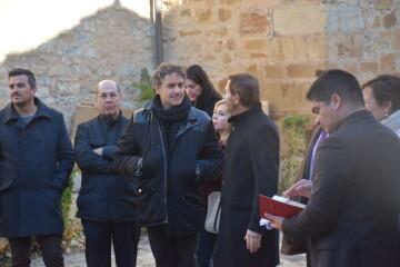 Inauguración de la primera escultura del Camino del Santo Grial en Barracas 20191120_113321 (59)