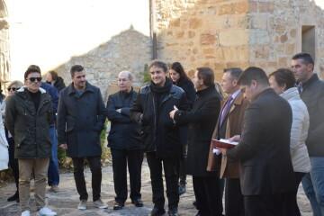 Inauguración de la primera escultura del Camino del Santo Grial en Barracas 20191120_113321 (61)