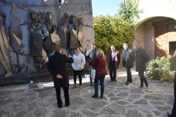 Inauguración de la primera escultura del Camino del Santo Grial en Barracas 20191120_113321 (62)