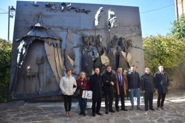 Inauguración de la primera escultura del Camino del Santo Grial en Barracas 20191120_113321 (68)