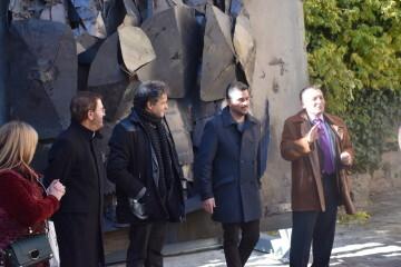 Inauguración de la primera escultura del Camino del Santo Grial en Barracas 20191120_113321 (75)