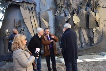 Inauguración de la primera escultura del Camino del Santo Grial en Barracas 20191120_113321 (79)